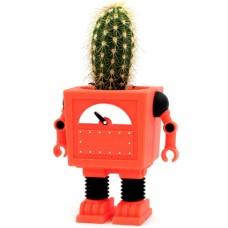 Горшок цветочный Planterbot красный