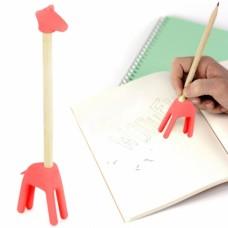 Ластики с карандашом Zoo розовый