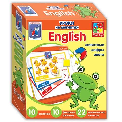 "Уроки на магнитах English ""Животные"""
