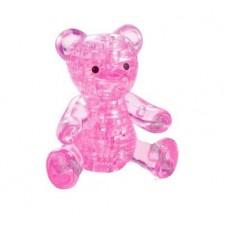 3D головоломка Мишка розовый