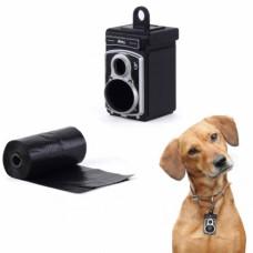 Подвеска-сейф для ошейника Rolldog черная
