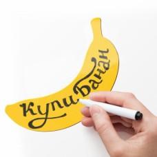 Магнит для записей Melompo банан