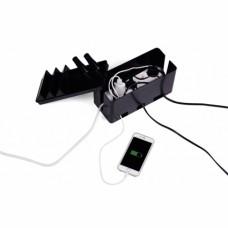 Органайзер для проводов Cable factory чёрный