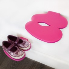 Полка для обуви Footprint розовая