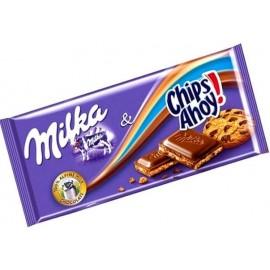 Шоколад Milka&Chips Ahoy 100 гр (плитка)