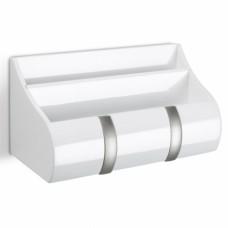 Полка-органайзер для прихожей Cubby белая
