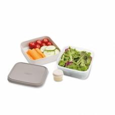 Ланч-бокс для салатов компактный GoEat™  серый