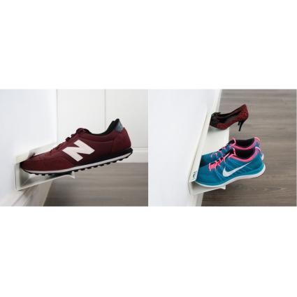 Полка для обуви Shoe rack 120 см белая