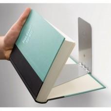 Полка книжная Conceal большая сталь