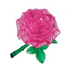 3D головоломка Роза розовая