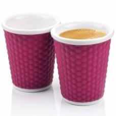 Набор чашек Honeycomb 180 мл фиолетовый