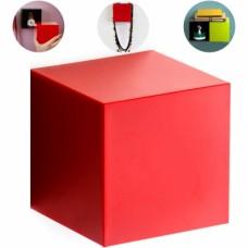 Полка-вешалка Pixel красная