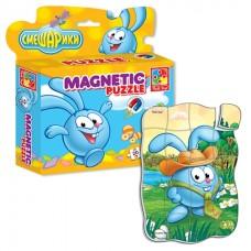 Магнитные пазлы в коробке. Смешарики. Крош