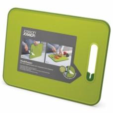 Доска разделочная с ножеточкой Slice & Sharpen™ зеленая