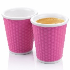 Набор чашек Honeycomb 180 мл розовый